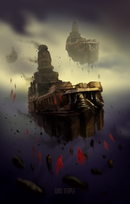 Wind-temple