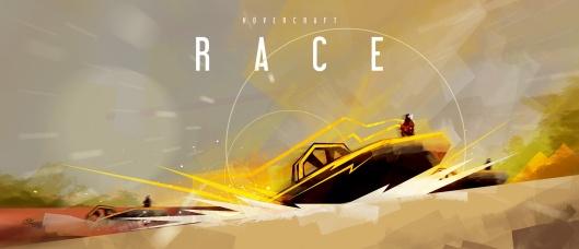 Hovercraft-race