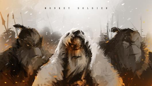 Monkey-soldier