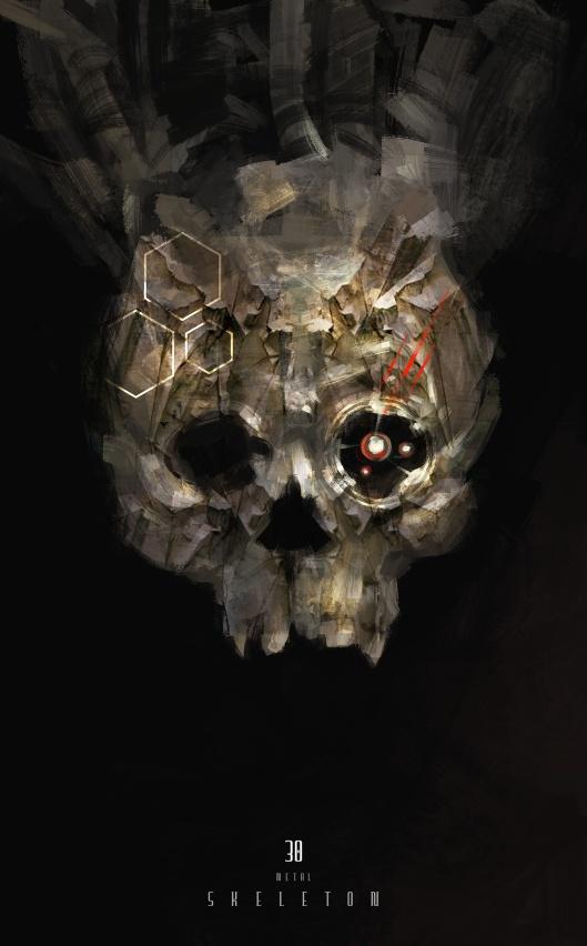 Metal-skeleton
