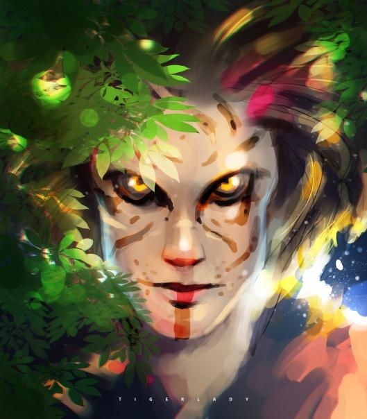 Tiger-Lady